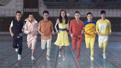 中国版《Running Man》韩国拍摄 Angelababy美貌征服韩国--陕西频道--人民网