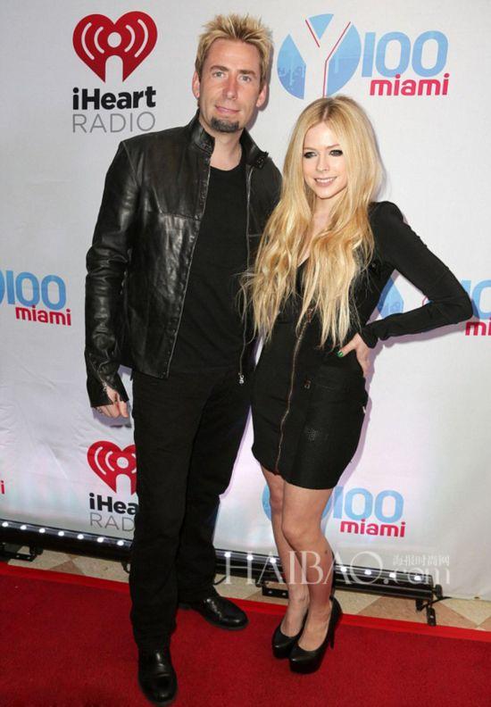 艾薇兒 (Avril Lavigne) 與Chad Kroeger