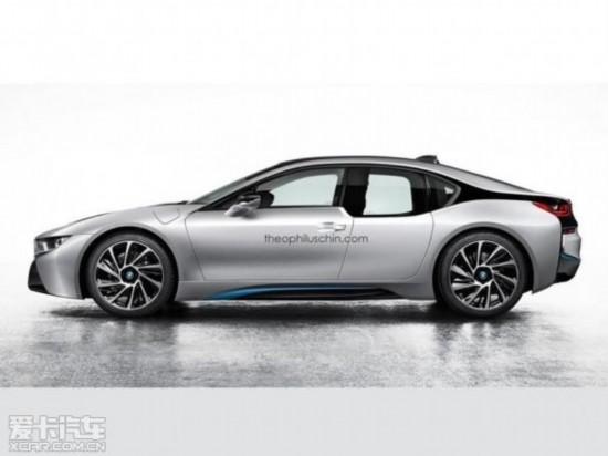 宝马i8轿车版假想图 将采用对开门设计