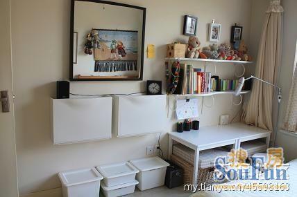 看到这么整洁的一角,你觉得猜不到这是孩子的房间吧?-超强收纳小