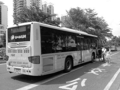海口部分公交车已装WiFi设备 国庆前开通