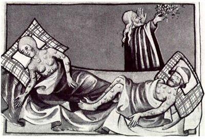 人类十次最严重的瘟疫 欧洲几乎毁于黑死病
