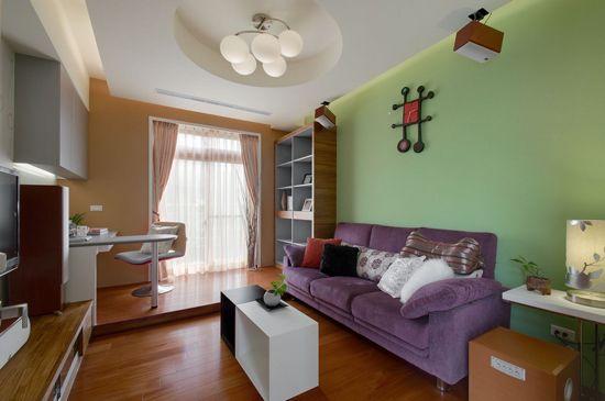 客厅装修效果图 多彩设计为居室加分