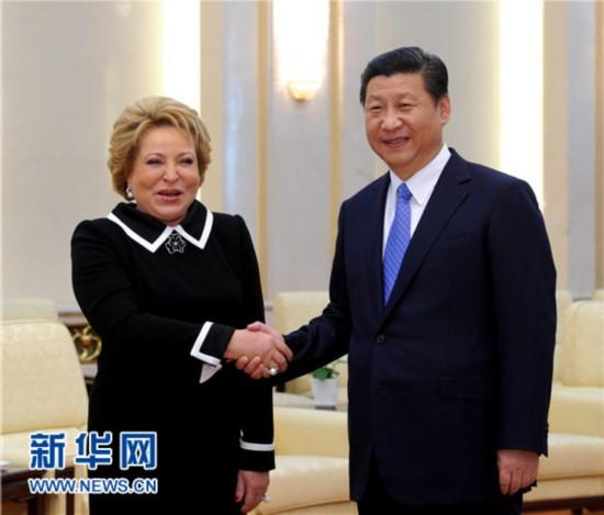 习近平:中俄立法机构要共同维护好二战成果