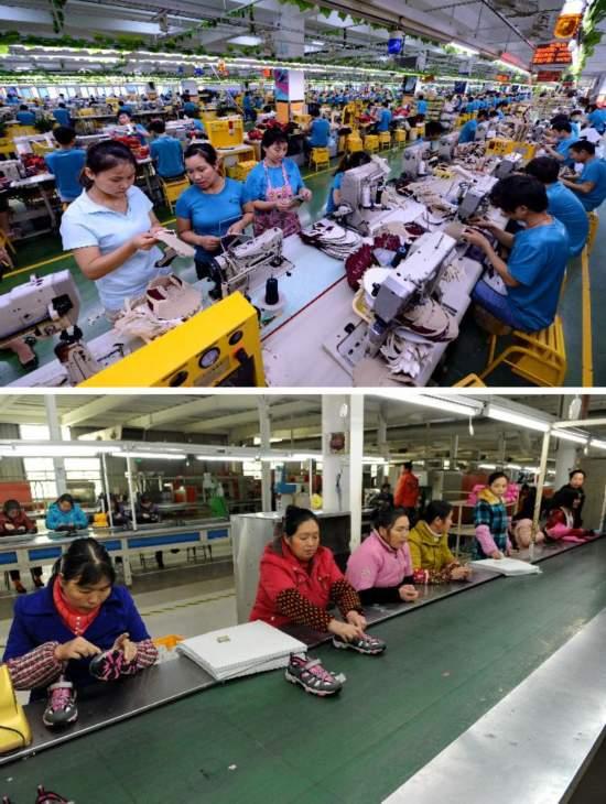 (新华视点·图片版)福建晋江:龙头企业率先突围 鞋服产业止跌回暖