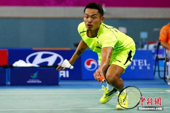 仁川亚运会:林丹为中国队扳回一局