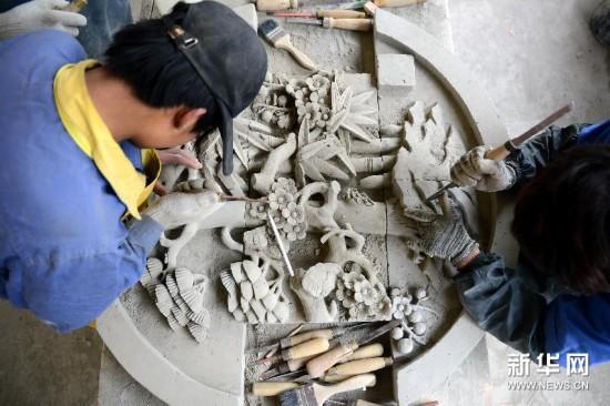 水泥砖雕制作步骤图解