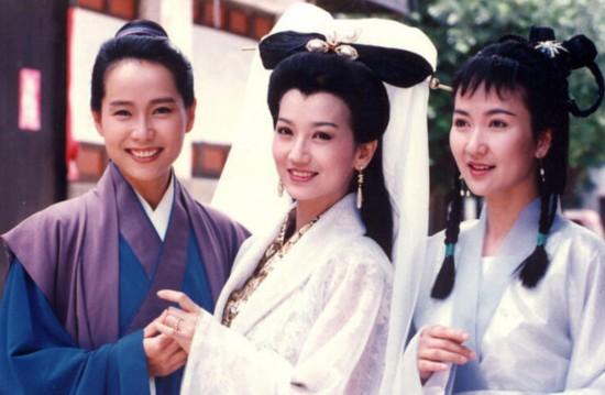 芝叶童陈美琪 新白娘子传奇 演员今昔对比