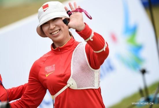 Xu Jing won 7-3 and got the bronze medal.