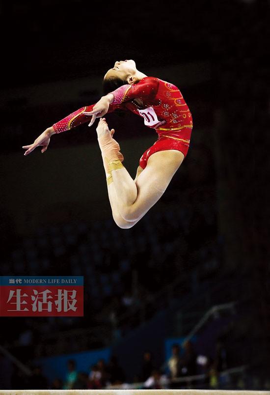 亚运会体操比赛结束 四位广西籍选手有喜有忧(图)