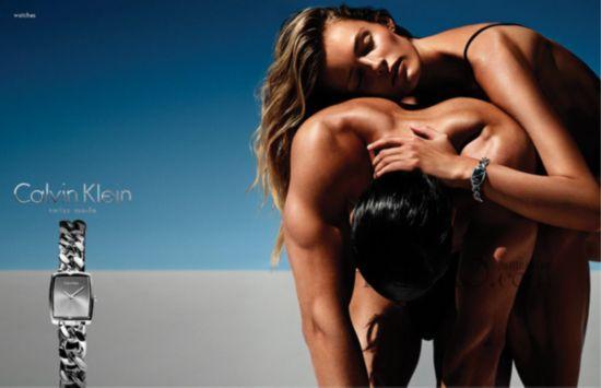 CK (Calvin Klein) 2014年第三季腕表首饰广告大片