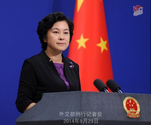外交部:香港是中国的香港 有关国家谨言慎行