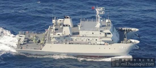 日本发现中国海军神秘双体测量船现身冲绳岛附近【4】