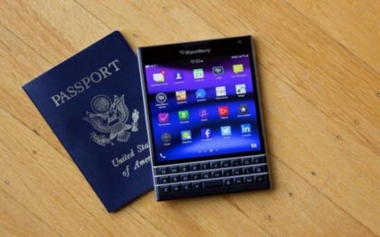 黑莓证研发Passport二代:或亮相明年MWC