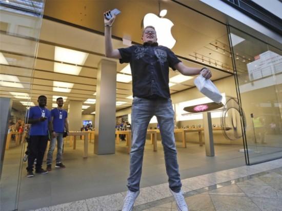 iPhone 6 Plus出货量超iPhone 6 占比60%