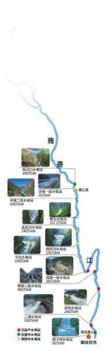藏区最大水电站在四川甘孜开建大坝系全国最高