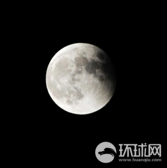 """网友摄影:""""红月亮""""亮相天际【9】"""
