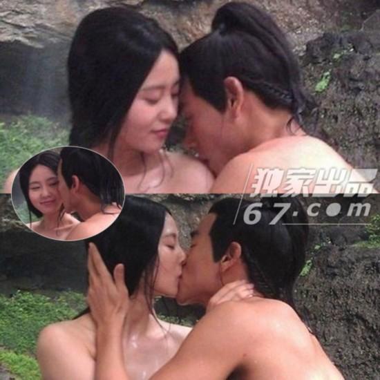疑《风中奇缘》结局 刘诗诗遭吴奇隆激情强吻