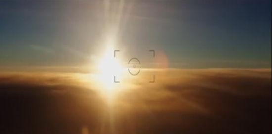 图为西蒙-罗伯茨拍到的日落。