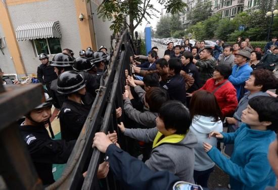 北京通州一所幼儿园遭50多名