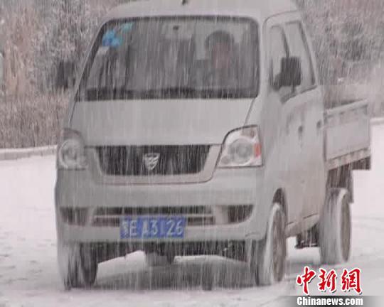 内蒙古大兴安岭林区迎来首场大范围降雪(图)