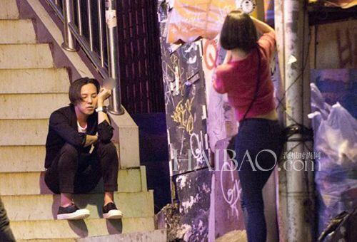 权志龙/Big Bang组合成员权志龙与水原希子的深夜约会遭偷拍