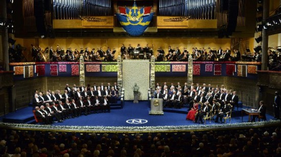 (国际)2013年诺贝尔奖颁奖仪式在斯德哥尔摩举行