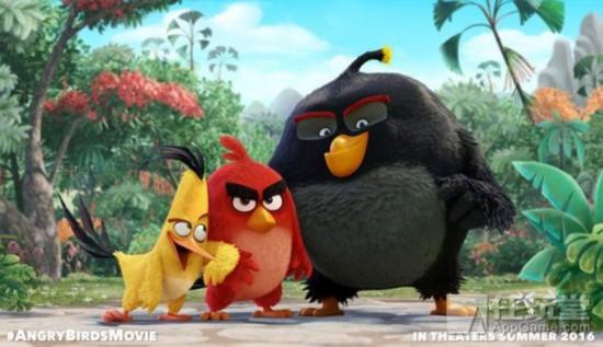 《愤怒的小鸟》将推动画电影 配音阵容强大