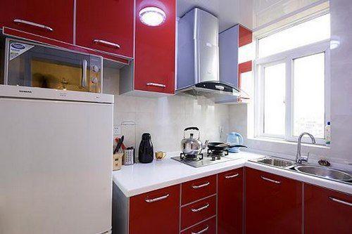 50平挤出2室2厅 功能齐全小户型装修案例高清图片