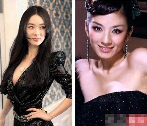 王菲张柏芝抢男人反目 老死不相往来的女星(图)