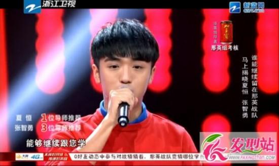 中国好声音第三期张碧晨夺冠早有预测 陈冰不