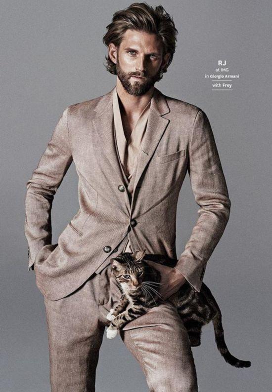 一个喜欢猫的男人_喜欢猫的男人性格分析_喜欢养猫的男人性格