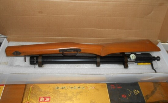 为25年前所买气枪网购配件被警方查获