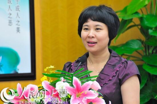 国家互联网信息办公室新闻协调局副局长梁立华在启动仪式上致辞