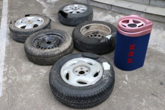 海南警方斩断一条跨省贩毒通道 轮胎内藏K粉