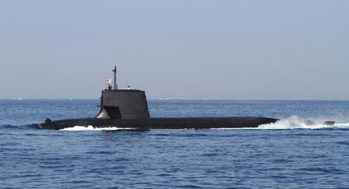 日本苍龙级潜艇(资料图)