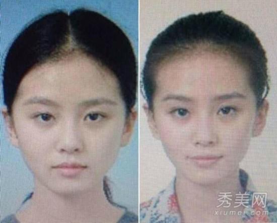 网曝刘诗诗证件照 出道10年绝对未整容