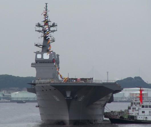 亚洲现役航母大比拼 辽宁舰力压日本夺魁