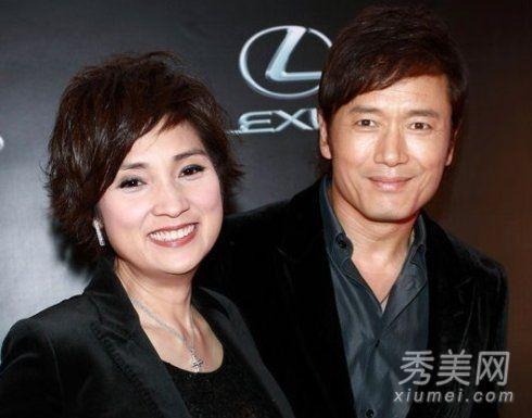 """哥布林杂耍艺人-\""""三哥\""""苗侨伟和\""""三嫂\""""戚美珍是TVB的老戏骨,两人从最初的荧屏"""