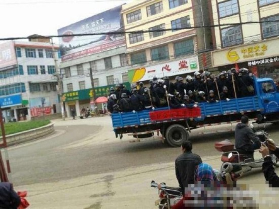 云南晋宁项目施工方与村民冲突已致8死18伤