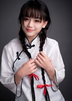 南笙女神走性感路线最美姑娘玩转清纯复薏米粉女生红豆图片