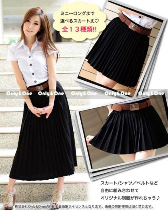 惊艳!泰国女生校服风靡日本