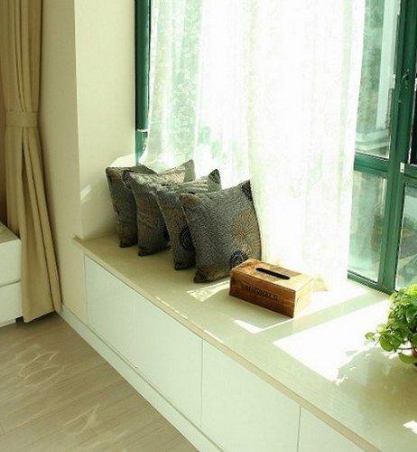 半包94平米两室两厅小户型设计 现代简约婚房装修