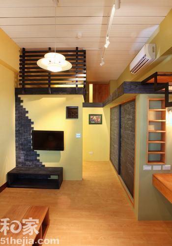 33平米小户型装修效果图 打造简约的单身公寓
