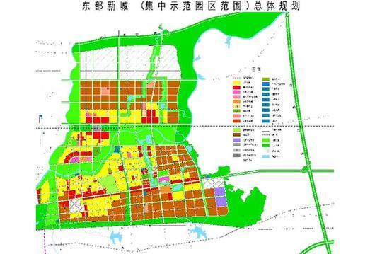 示范园区规划图