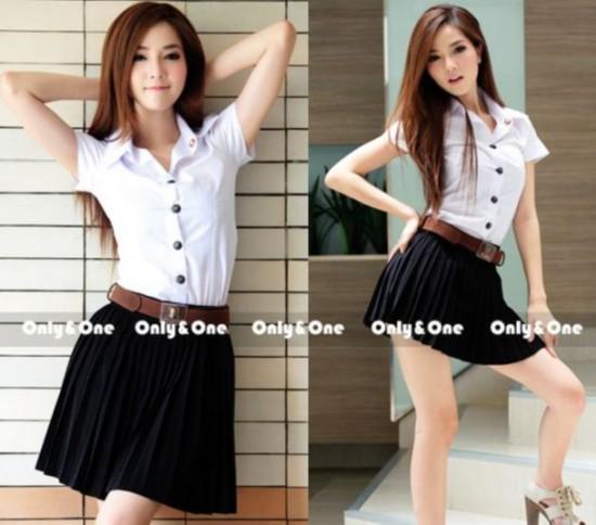 泰国女生校服风靡日本
