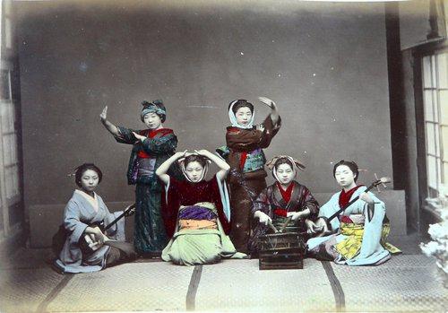明治维新时期明信片再现日本18世纪末真实生活【组图】