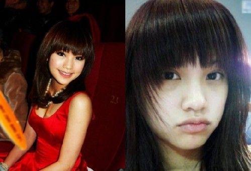 赵薇范冰冰刘诗诗 30位女星卸妆堪称灾难片
