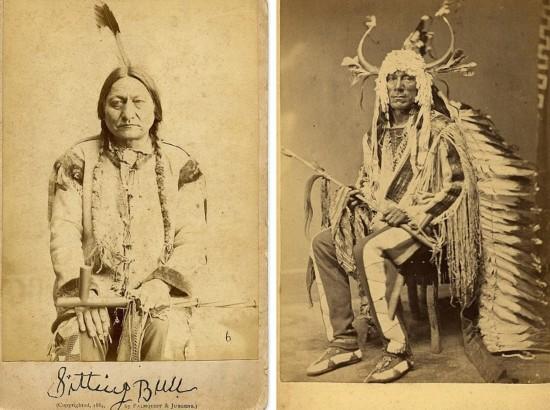 罕见摄影作品揭秘19世纪末印第安人变革生活