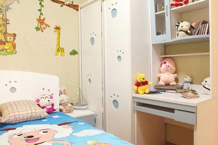 小孩房间墙面装修图片